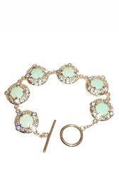 Mint Green Toggle Bracelet