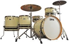Shine Select Custom Drum Set