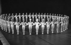 Radio City Rockettes in performance, 1933