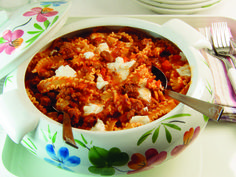 Sloppy Lasagna - from the cookbook Hip Pressure Cooking: Fast, Fresh & Flavorful