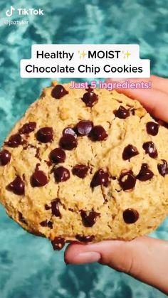 Healthy Sweets, Healthy Dessert Recipes, Healthy Baking, Snack Recipes, Healthy Food, Tasty, Yummy Food, Easy Baking Recipes, Food Videos