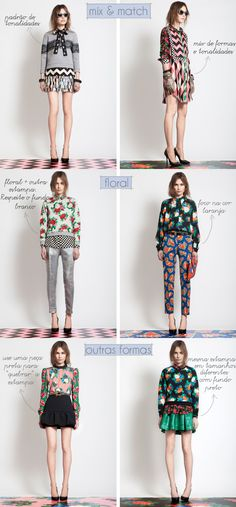 FG I like the floral on left Matches Fashion, I Love Fashion, Fashion Design, Mix And Match Fashion, Cool Outfits, Casual Outfits, Fashion Outfits, Womens Fashion, Pattern Mixing