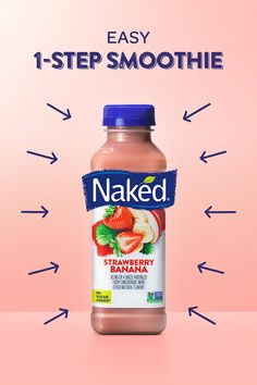When you need something fast, grab a nutritious smoothie you'll love. Nutritious Smoothies, Fruit Smoothies, Healthy Drinks, Healthy Tips, Healthy Snacks, Healthy Eating, Healthy Detox, Smoothie Drinks, Smoothie Recipes