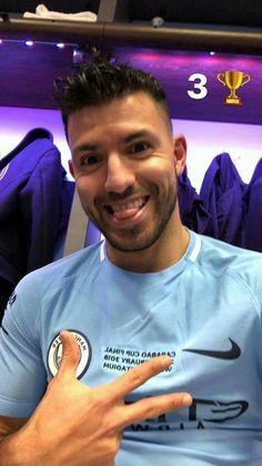 Sergio #KUN Agüero ⚽ Manchester City ⚽ ⚽ 2018⚽ Sergio Aguero, Zen, Kun Aguero, City Boy, Football Boys, Soccer Players, Manchester City, Neymar, Premier League