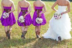 Cute brides maid dress style