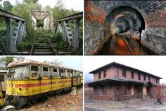 abandoned trains railways and stations 6 Abandoned Mega Machines: Jumbo Jets, Space Shuttle Transporters & More