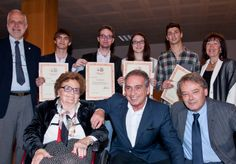 """PREMIO LUCCHESE - Now at its 26th edition, Premio Lucchese is an annual event created to commemorate Florim's founder, Giovanni Lucchese, with the award consigned to top students of the """"Alessandro Volta"""" technical-industrial college of Sassuolo."""