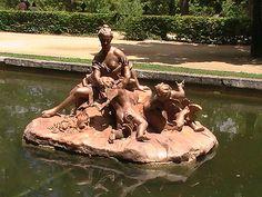 Fuente del Abanico. La Granja.