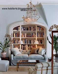 Gömme kitaplık. Hayalimdesin...