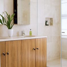 Natural-style shower room | Bathrooms | Decorating ideas | Image | Housetohome