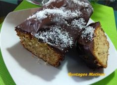 Κέικ βανίλιας με πορτοκάλι & επικάλυψη σοκολάτας Types Of Food, Muffin, Breakfast, Desserts, Recipes, Morning Coffee, Tailgate Desserts, Deserts, Muffins