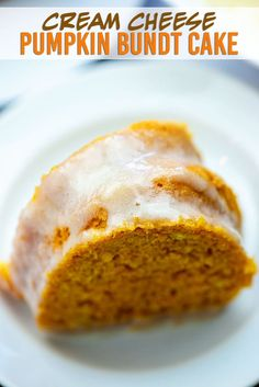Pumpkin Bundt Cake with Cream Cheese Glaze! This is the perfect bundt cake for fall! Pumpkin Bundt Cake with Cream Cheese Glaze! This is the perfect bundt cake for fall! Pumpkin Bundt Cake, Pumpkin Dessert, Pumpkin Crunch Cake, Pumpkin Coffee Cakes, Pumpkin Pies, Canned Pumpkin, Pumpkin Cheesecake, Pumpkin Pie Spice, Cream Cheese Glaze