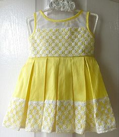 Frocks for girls Baby Girl Frocks, Frocks For Girls, Baby Frocks Designs, Kids Frocks Design, Cute Baby Dresses, Little Girl Dresses, Cotton Frocks For Kids, Kids Dress Wear, Kids Wear