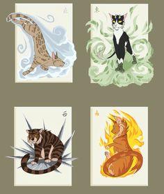 Tallstar, Leopardstar, Tigerstar, and Firestar Warrior Cats Funny, Warrior Cats Comics, Warrior Cat Memes, Warrior Cats Fan Art, Warrior Cats Books, Warrior Cat Drawings, Warrior Drawing, Warrior Cats Art, Cat Comics