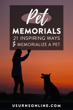 Pet Memorials: 21 Inspiring Ways to Memorialize a Pet Pet Memorial Jewelry, Pet Memorial Stones, Pet Memorial Gifts, Cat Memorial, Memorial Quotes, Memorial Ideas, Pet Cremation Urns, Cremation Jewelry, Pet Caskets