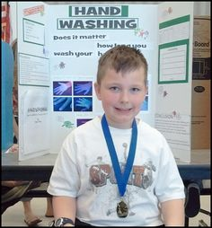 Handwashing Science Fair Project