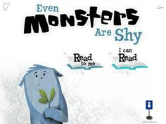 Even monsters are shy