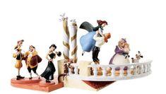 Amazon.com: Enesco Walt Disney Classics **Beauty & Beast Signature Series, The Curse is Broken NLE 1000** 4007295: Home & Kitchen