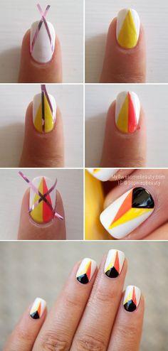 Coucou les filles, Vous aimez les manucures originales, personnalisées à votre image ? Optez pour le nail art géométrique. Des motifs…