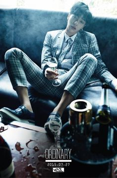 """Kikwang  - BEAST completes individual concept teasers for """"Ordinary"""""""