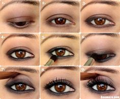 Step by Step Eye Makeup Ideas for Brown Eyes | Step-By-Step-Eye-Makeup-Tips-for-Women-2012.jpg