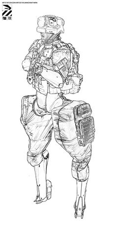 ArtStation - Rough…, by Nivanh ChantharaMore robots here.