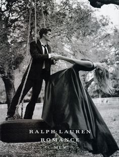 Ralph Lauren Romance. I think I had this up on my wall as a teen (& I didn't have many posters).