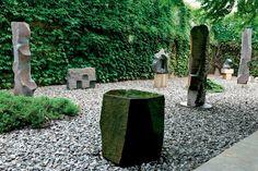Oásis contemplativo:Jardim do Noguchi Museum, Nova York
