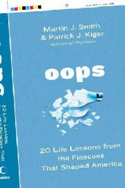"""The """"Oops"""" cover from 2006 (HarperCollins)."""