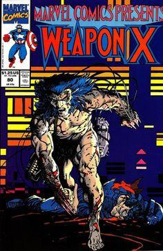 Weapon X :  Marvel Comics Presents 80.