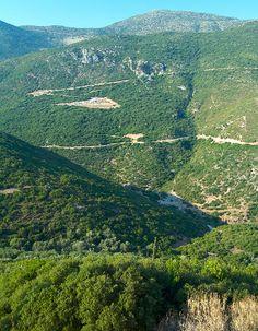 Parga located in de northwestern part of de regional unit of Preveza in Epirus, northwestern Greece