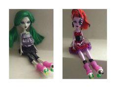 Monster High Roller Skates Mystixx Roller by GirlySuppliesDeJaVu