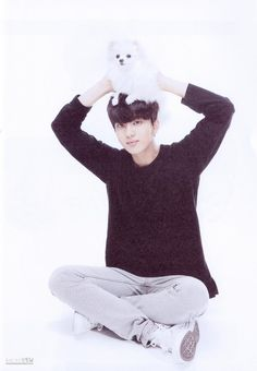 Youngjae That is not what you do with a dog...