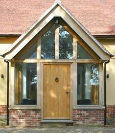 oak framed glazed porch - Google Search | Hall makeover | Pinterest | Porches, Entrance and Bricks