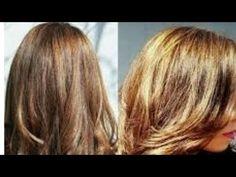 Remedio para aclarar el cabello de forma natural. - YouTube