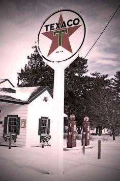Ambler's Texaco Station-Dwight, Illinois