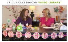 winter wonderland cartridge   NEW Cricut Classroom Online Class: DIY Party Ideas   Cricut Blog