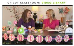 Did you know #Cricut has online classes?