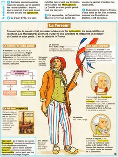 La Terreur French Teaching Resources, Teaching French, French Phrases, French Words, French Teacher, French Class, French Practice, Ap Literature, French History