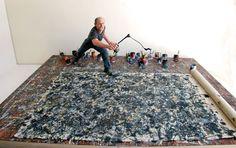 Jackson Pollack, #jacksonpollack, #painters, #art, #donmirra, #donmirra.com
