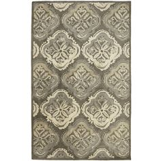 At once classic and versatile, our hand-tufted rug lets you attractively define any area. It's crafted of wool, washed for softness and features a traditional medallion motif in neutral tones. There are just so many reasons to love it, including the price.
