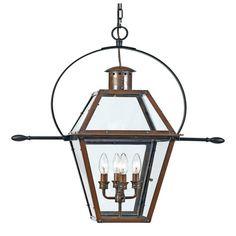 Quoizel Rue De Royal 4 Light Large Outdoor Hanging Lantern