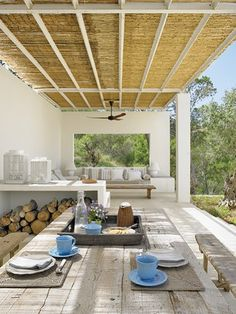 Terrace outdoor living ideas / Beach home design inspiration byCOCOON.com #COCOON Dutch designer brand