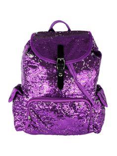 Purple Bling Bling Backpack
