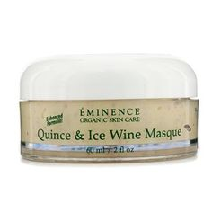 Quince & Ice Wine Masque (Oily to Normal Skin) 60ml/2oz by Eminence Organic Skin Care. $53.19. This beauty product is 100% original.. A hydrating & toning treatment mask Contains antioxidant Tokay Grapes & Quince Apple (juice & pulp) to combat free radicals Blended with Seabuckthorn Berry to shield skins moisture barrier & reduce the look of wrinkles Loaded with Honey & Jojoba Oil for hydrating benefits Unveils a calmer smoother soothed & younger looking complexion Perfect fo...