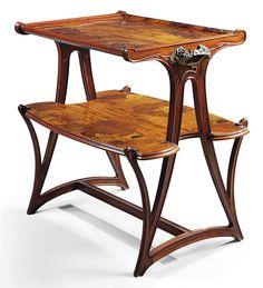 LOUIS MAJORELLE (1859-1926) | TWO-TIER OCCASIONAL TABLE, CIRCA 1900