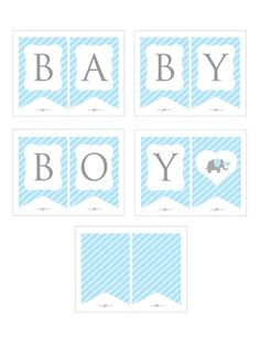 Ideas for baby shower banner printable blue Imprimibles Baby Shower, Baby Shower Invitaciones, Elephant Baby Showers, Baby Elephant, Baby Shower Printables, Baby Shower Themes, Shower Ideas, Baby Shower Brunch, Baby Bundles