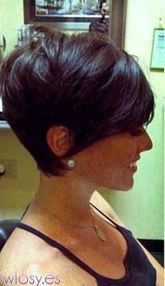 sexy short hair by deann