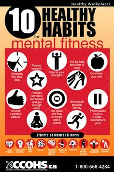 EHS Works: CCOHS Shares 10 Tips for Mental Fitness