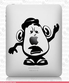 Mr. Potato Head iPad decal